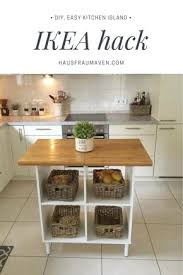 ikea rolling kitchen island diy kitchen island ikea hack all materials can be purchased from