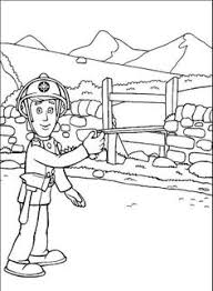 fireman sam coloring coloring pages printables