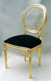 chaise dorée chaise lisaura or objet déco déco