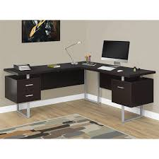 monarch specialties inc hollow core l shaped computer desk amazon com monarch specialties i 7305 computer desk left or right
