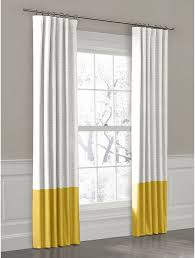 Gray And Yellow Curtains Yellow Drapes 3 Tips To Order Yellow Curtain Panel For Window