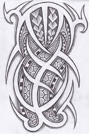 download free island tribal tattoo design by stuartbrewer on