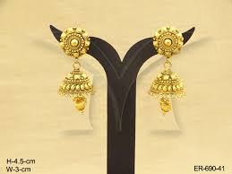 earrings gold design polki earings squaer gold design antique earrings