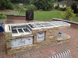 outdoor fireplace with pizza oven woodfired outdoor brick pizza