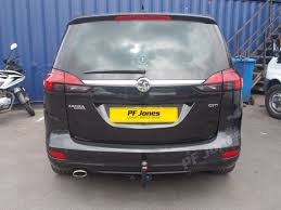 vauxhall zafira 2013 vauxhall zafira tourer 2012 on detachable neck tow bar