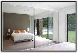 Mirrored Bifold Doors For Closets Frameless Mirror Sliding Closet Doors Ppi