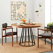 Anthropologie Dining Room Beautiful Industrial Style Round Dining Table Stockbridge
