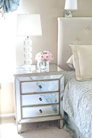 glass side tables for bedroom white side table bedroom best mirrored nightstand ideas on mirror