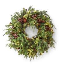 cordless greenery cordless wreath battery operated garland