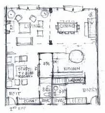 Home Design Sketch Plans Captivating Painting Curtain Fresh In Home Design Sketch Plans