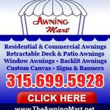 Powered Awnings Awning Mart Awnings 5665 West State Route 31 Cicero Ny