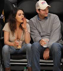 mila kunis and ashton kutcher show the passion is still alive at