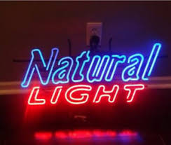 natural light beer gifts neon signs gift natural light beer bar pub store party room wall