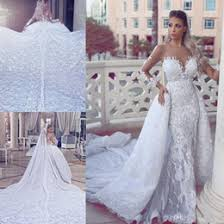satin wedding dresses removable skirt online satin wedding