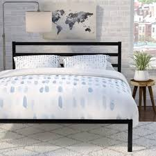 Low Lying Bed Frames Low Profile Beds You Ll Wayfair
