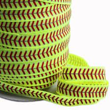 softball ribbon 100yards lot new arrival softball fold elastic ribbon in
