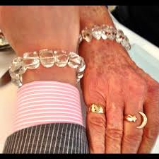 skull crystal bracelet images Buzz aldrin and i with our matching rock crystal skull bra flickr jpg