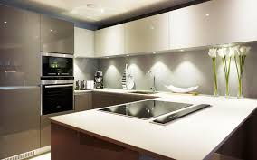 Luxury Modern Kitchen Designs Modern Luxury Kitchen Design With Gloss Furniture For Small Space