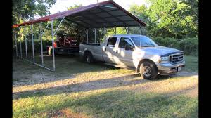 american steel carports styles youtube