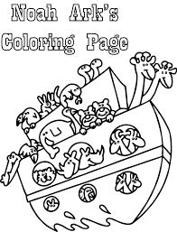 simple noahs ark coloring pages virtren com