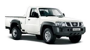 nissan trucks black brochure