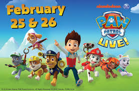 paw patrol live attractions ontario