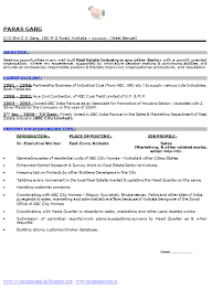 100 resume format for experienced sample template of an