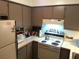 how to paint formica kitchen cabinets before and after pictures of painted laminate kitchen cabinets www