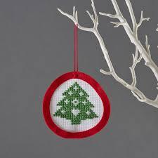 mini tree christmas decoration children u0027s craft kits from buttonbag