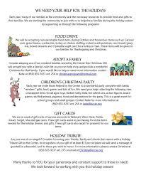 thanksgiving food drive items newsletters u2014 emerald coast children u0027s advocacy center