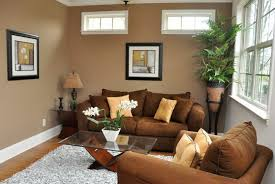 light brown living room wall colors for small rooms to make it spacious brown living room