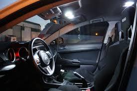 Mitsubishi Lancer 2014 Interior Lancer Evo X 2008 2014 8 Piece Led Interior Bulb Kit