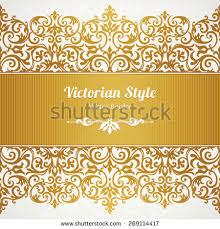 Border Designs For Birthday Cards Vector Golden Border Design Template Element Stock Vector