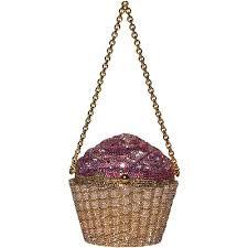 cupcake purse leiber strawberry cupcake clutch