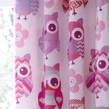catherine lansfield owl curtains childrens bedroom childrens