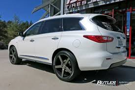 infiniti qx60 infiniti qx60 with 22in niche milan wheels exclusively from butler
