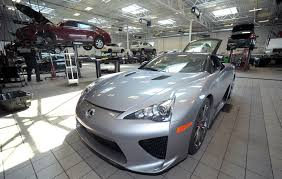 lexus lfa crash new business in town easton main street initiative