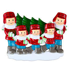 or1366 5 tree lot family of 5 personalized