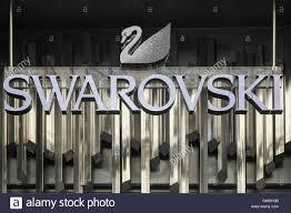 swarovski siege logo swarovski sur un mur swarovski est un producteur autrichien de