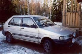 old subaru hatchback 1992 subaru justy information and photos zombiedrive