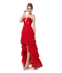 red high low dresses for teenagers red prom dresses 2016 high low