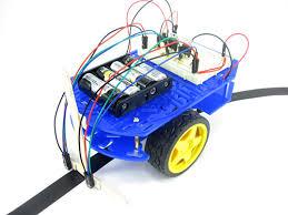 Seeking Robot Date Build A Zippy Line Following Robot Bluebot Project 3