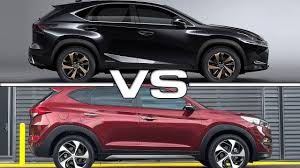 lexus of tucson reviews 2018 lexus nx vs 2017 hyundai tucson youtube