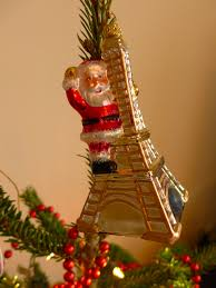 Eiffel Tower Ornaments O French Christmas Tree Mon Beau Sapin French In Seattle