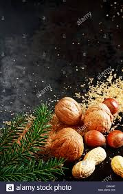 Christmas Nuts Traditional Christmas Nuts With Whole Almonds Hazelnuts And