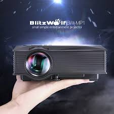 sony home theater projector blitzwolf bw mp1 mini portable wifi wireless video led projector