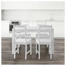 jokkmokk table and 4 chairs white ikea
