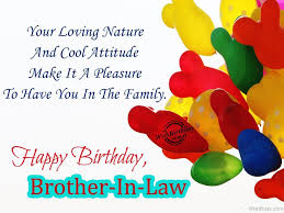 30 great brother in law birthday wishes greetings images