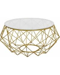 Wire Coffee Table Spectacular Deal On Goldtone Metal Coffee Table