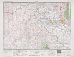 Map Of Boise Idaho Boise Topographic Maps Or Id Usgs Topo Quad 43116a1 At 1